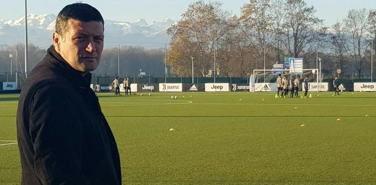 Trener omladinaca Čukaričkog Kaplanović bio u poseti Juventusu na poziv Luke Markovića--VeličkoKaplanović