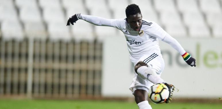 Vezista Čukaričkog Samuel Ovusu u reprezentaciji Gane-Samuel KwameOwusu-