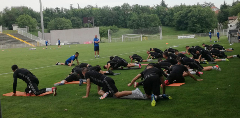 Čukarički počeo pripreme, na prvom treningu 27 igrača--