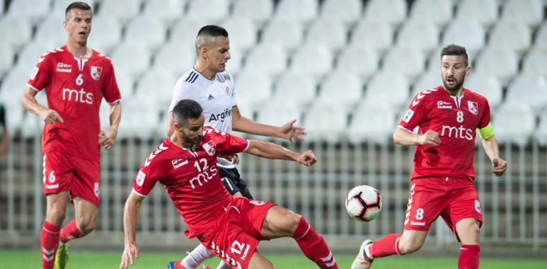 Kajević sjajnim golom doneo pobedu Čukaričkom protiv Nišlija-AsmirKajević-
