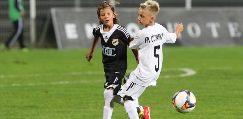 Najmlađi u porodici Čukaričkog oduševili publiku na stadionu--