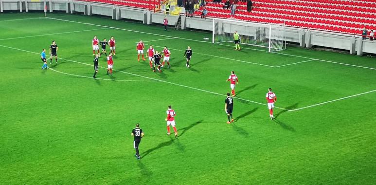 Čukarički u Kruševcu doživeo drugi poraz u Super ligi--