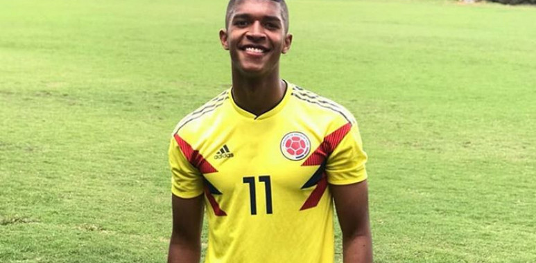 Čukarički doveo napadača, mladi reprezentativac Kolumbije Dilan Ortiz na Banovom brdu--