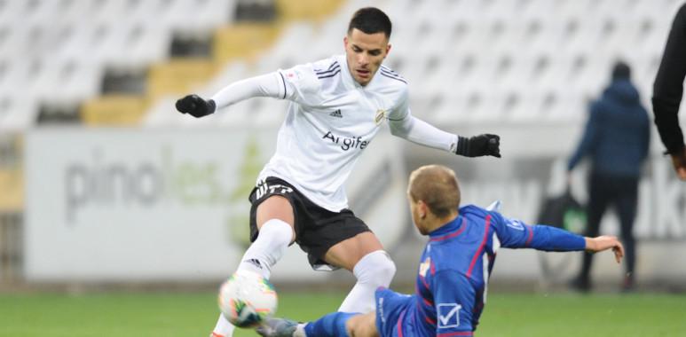Čukarički poražen u Kruševcu od Napretka golom u 91. minutu--