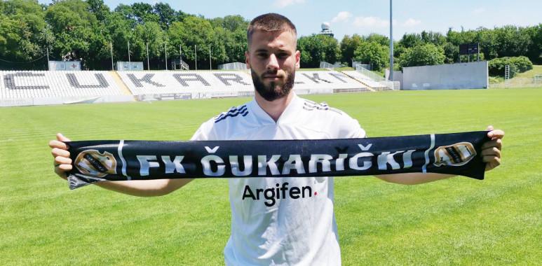 Mladi reprezentativac Crne Gore Roganović pojačao Čukarički: Došao sam u jedan od najboljih klubova u Srbiji--