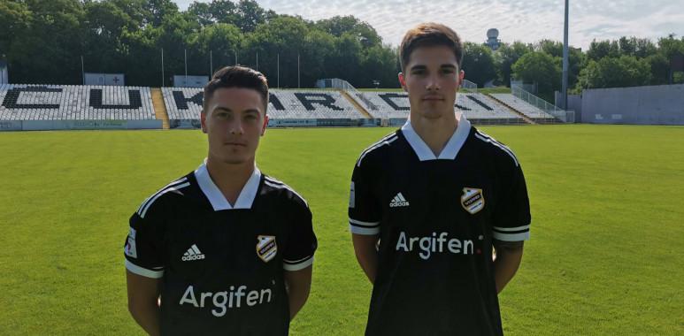 Aleksa Janković i Nikola Čolić potpisali ugovore sa Čukaričkim--