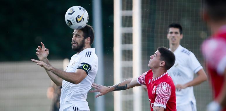 Čukarički i niški Radnički treći put uzastopno igrali 0:0--